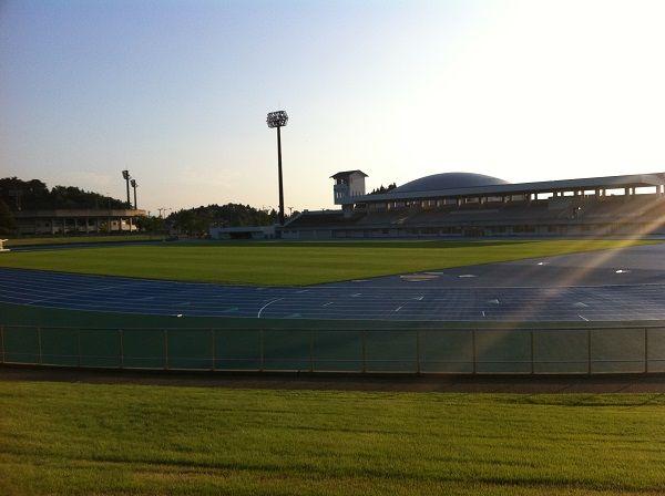 新発田市五十公野公園陸上競技場