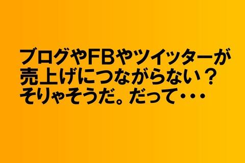 ブログやFB