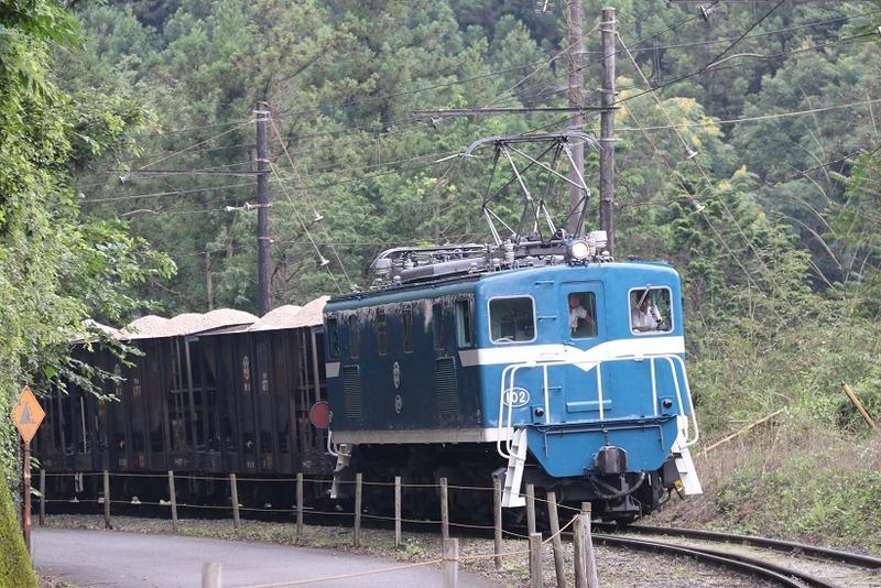 2 鉱石列車 102号機 影森近くにて その11