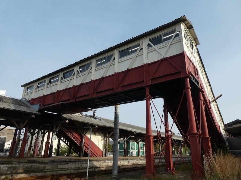 4 半田駅と跨線橋 その5