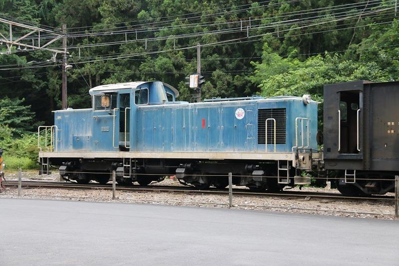 2 鉱石列車 D502号機 採石場内 その1