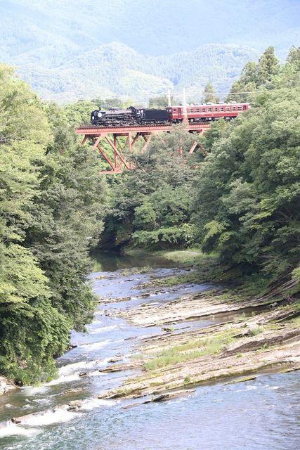 5  秩父鉄道 武州原谷~和銅黒谷間 C58-363 SL列車 その2