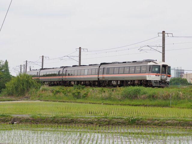 4 キハ85 特急南紀 白鳥信号所にて その4    jpg