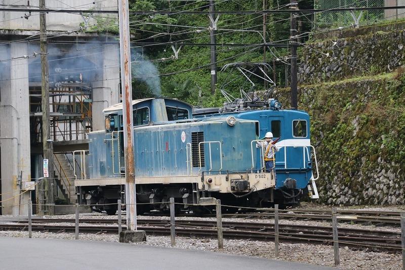 2 鉱石列車 102号機 採石場内 その2