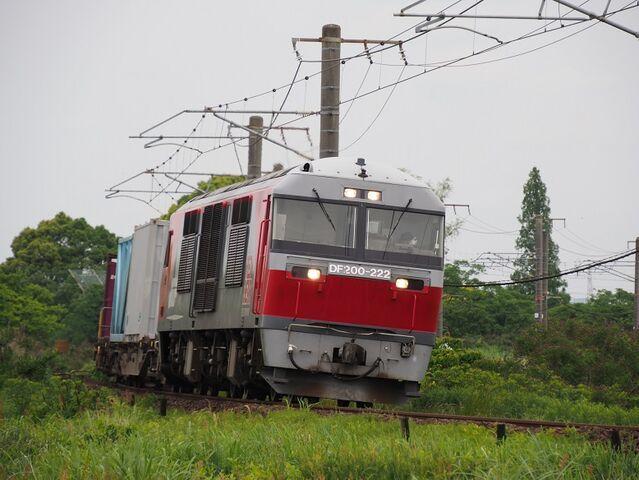 2   DF200-222 永和~弥富間 コンテナ列車 その2