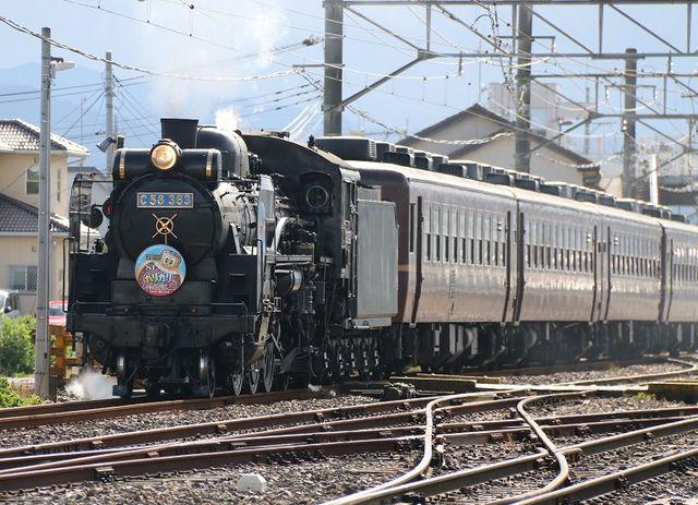 7  C58-363 ガリガリ君号 武川駅にて その1