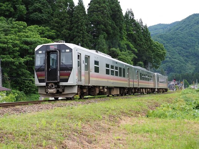 1  GV-E400系 五十島~三川間 その2