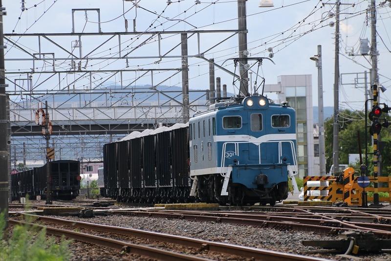 6  武川駅にて 301号機 その1