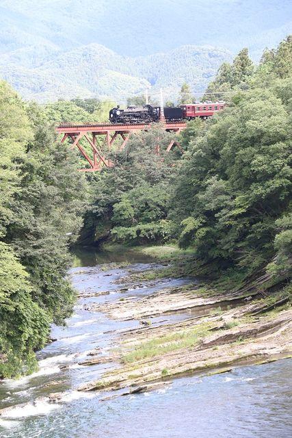 5  秩父鉄道 武州原谷~和銅黒谷間 C58-363 SL列車 その1