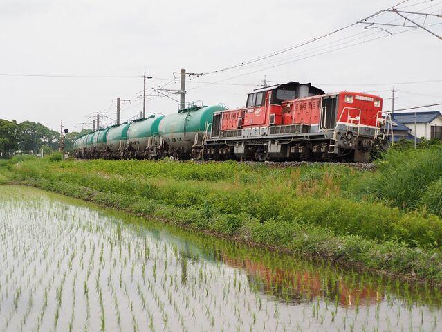 6 DD51-1028 石油列車 永和~弥富間 その4