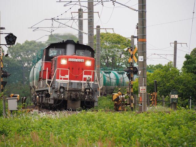 6 DD51-1028 石油列車 永和~弥富間 その2
