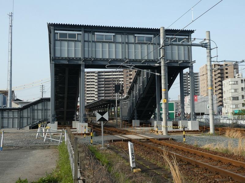 2 仮の半田駅 その2