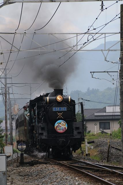 1 C58-363 ガリガリ君号 影森にて その2