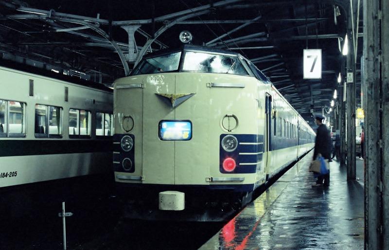 1985・2・10 583系 ゆうづる号 その1