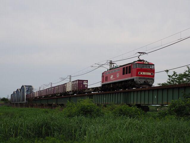 0 羽越本線 EF510-6 新津~京ヶ瀬間 その2