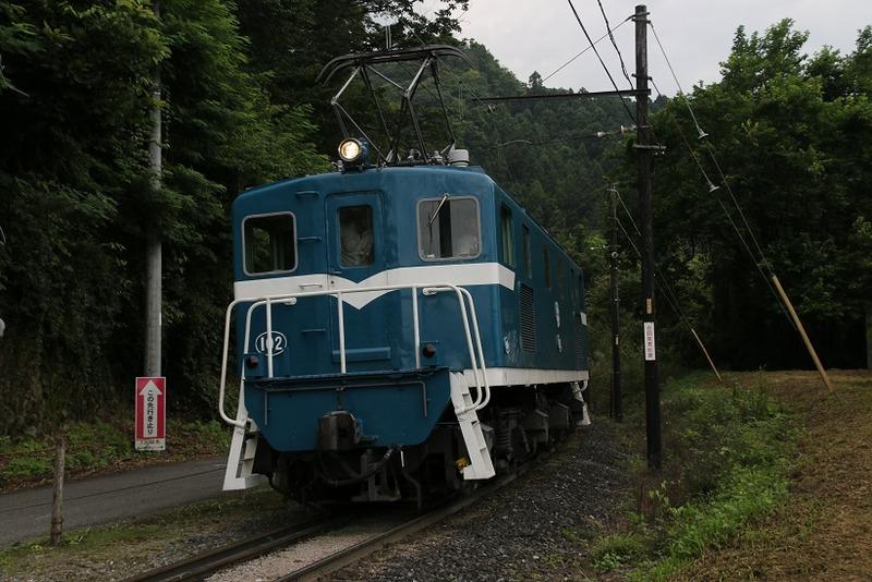 2 鉱石列車 102号機 影森近くにて その13