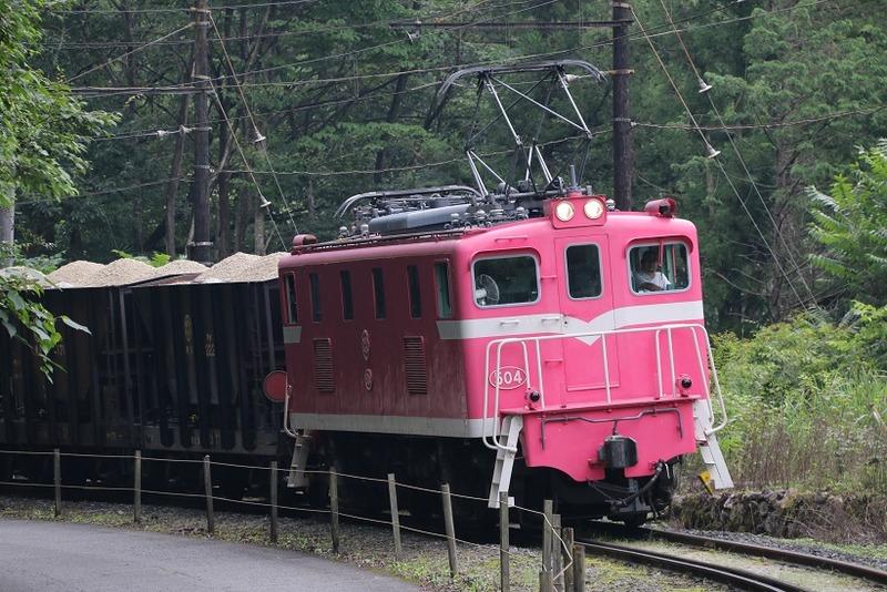 3 鉱石列車 504号機 影森近くにて その5