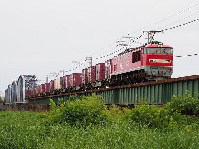 0 羽越本線 EF510-22 新津~京ヶ瀬間 その2