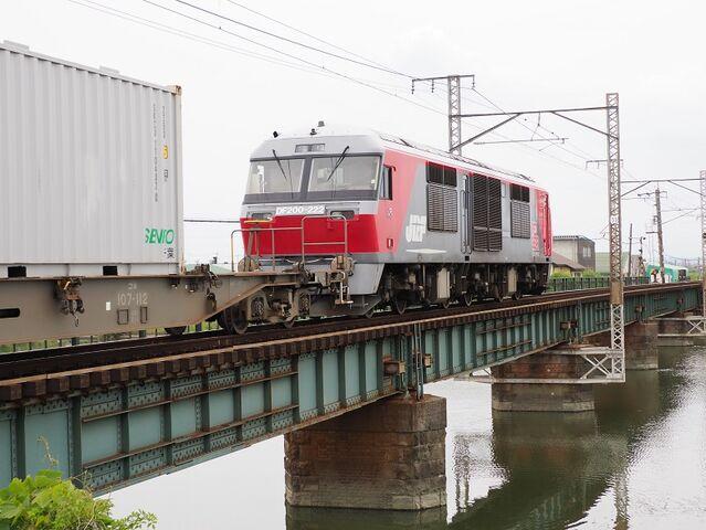 1  DF200-222 蟹江~永和間 コンテナ列車 その4
