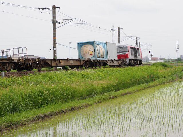 2   DF200-222 永和~弥富間 コンテナ列車 その3