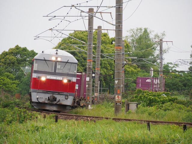 2   DF200-222 永和~弥富間 コンテナ列車 その1