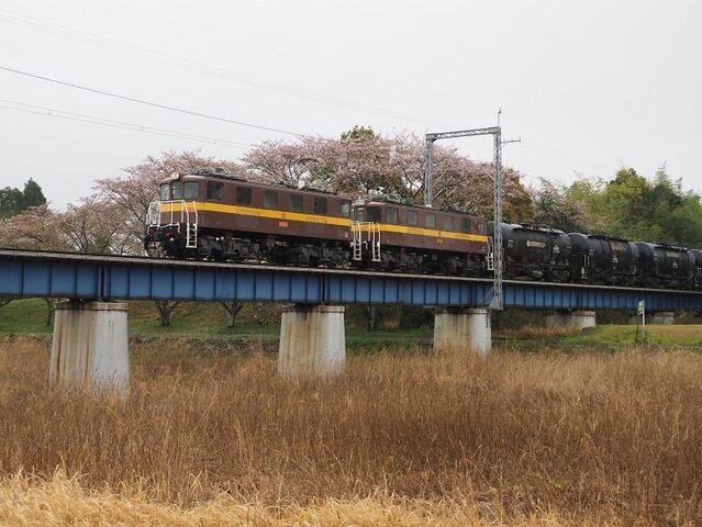 2 宇賀川橋梁 ED457+458 大安~三里間 その2