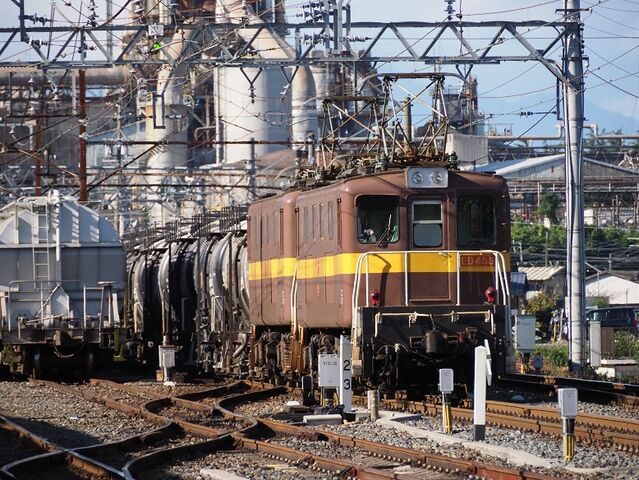 7 ED453+452 東藤原駅にて その1