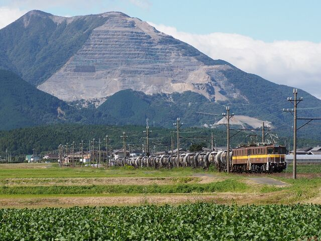 5 丹生川~三里間 ED456+454 その2