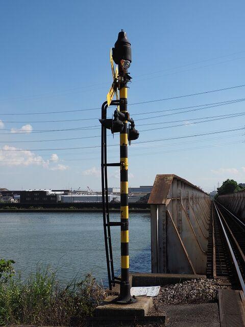 7 天白川橋梁の踏切 その2