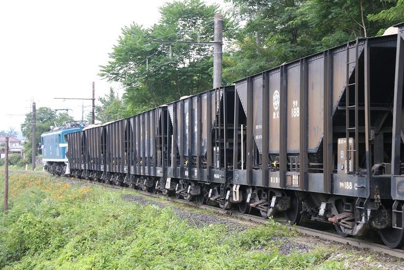 2 鉱石列車 102号機 影森近くにて その14