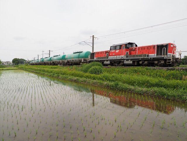 6 DD51-1028 石油列車 永和~弥富間 その5