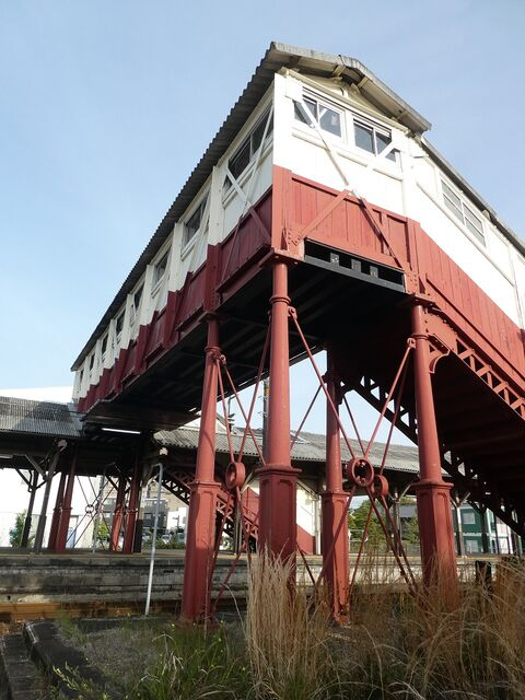 4 半田駅と跨線橋 その6