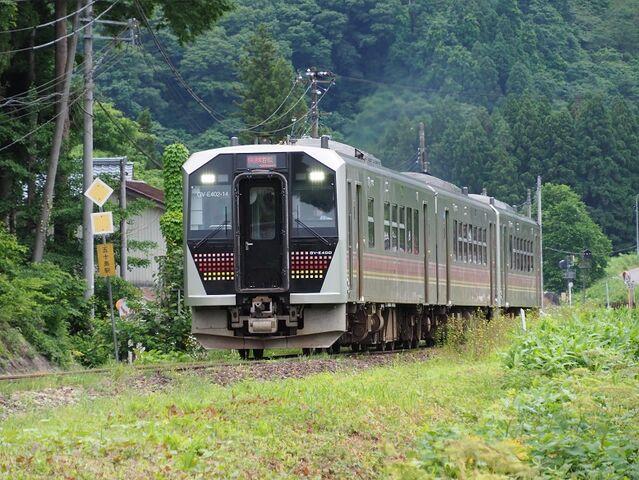 1  GV-E400系 五十島~三川間 その1