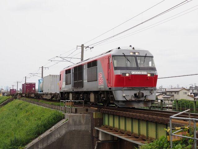 1  DF200-222 蟹江~永和間 コンテナ列車 その3