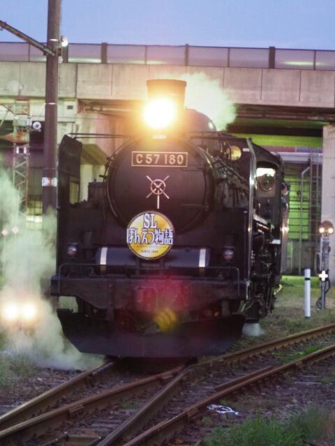 10 C57-180 新津駅にて その6