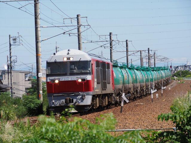 4  DF200-222 蟹江踏切にて 八田~春田間 その3