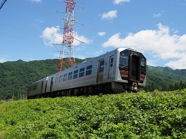 1  GV-E400系 東下条駅ー五十島駅間 その2