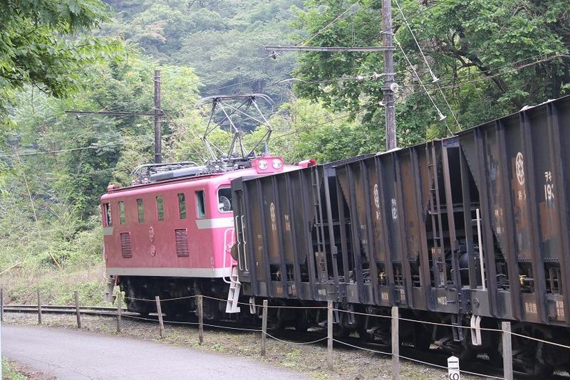 3 鉱石列車 504号機 影森近くにて その4
