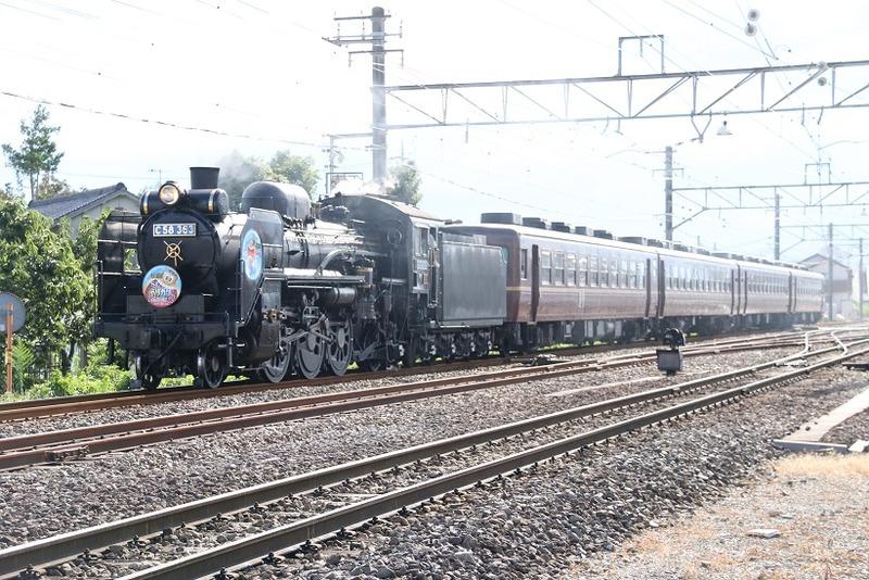 7  C58-363 ガリガリ君号 武川駅にて その2