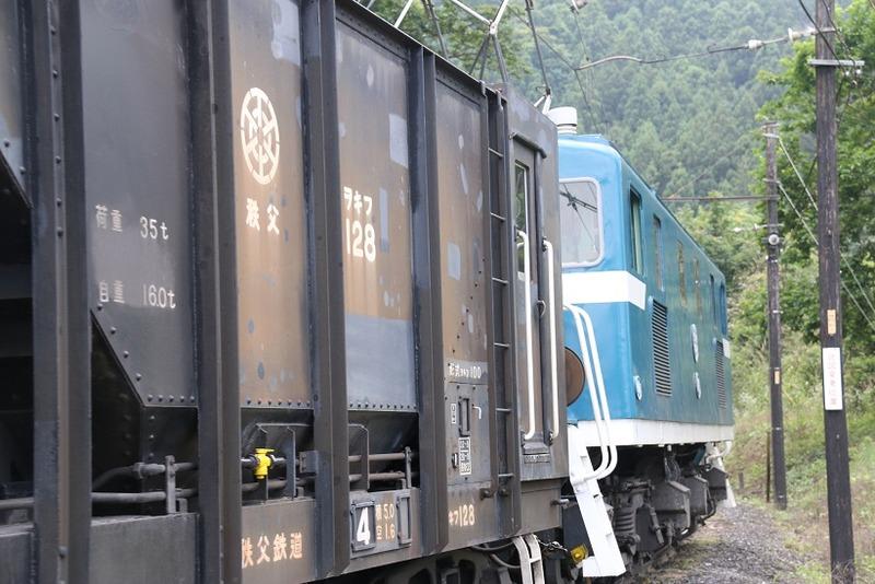 2 鉱石列車 102号機 影森近くにて その3