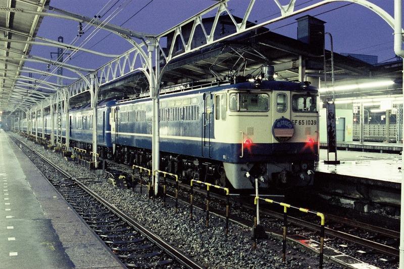 1985・2・10 EF65-1039 あけぼの その2