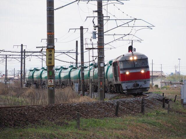 3 DF200-205 白鳥信号所にて その1