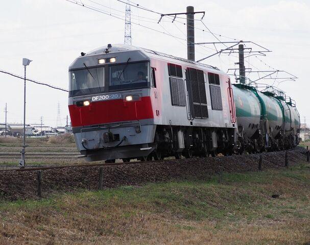 2 DF200-205 白鳥信号所にて その3