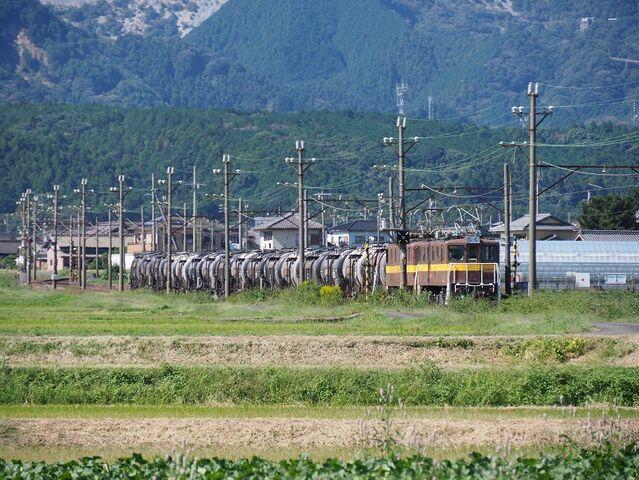 5 丹生川~三里間 ED456+454 その1