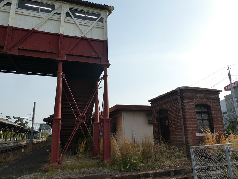 4 半田駅と跨線橋 その3