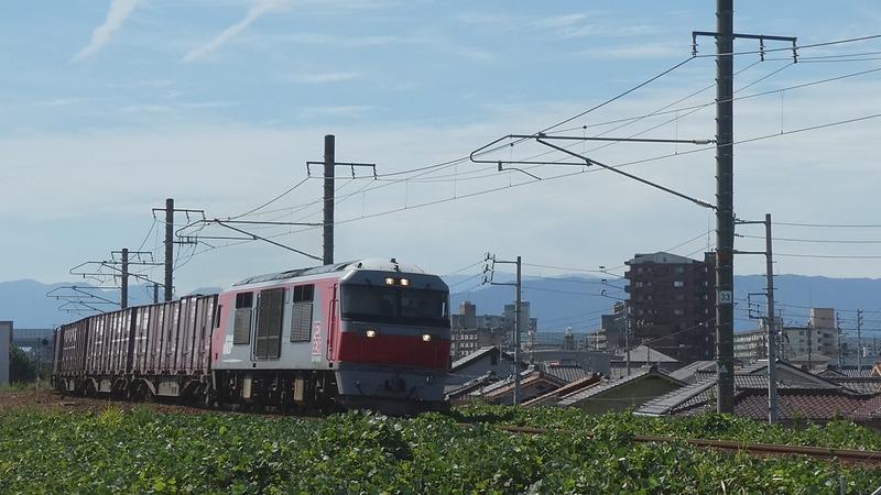 8  DF200-220  春田~八田間 その1