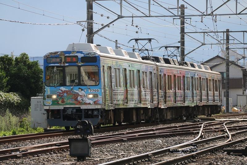 6  武川駅にて 7705 その1