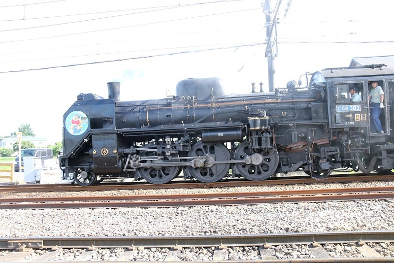 7  C58-363 ガリガリ君号 武川駅にて その3