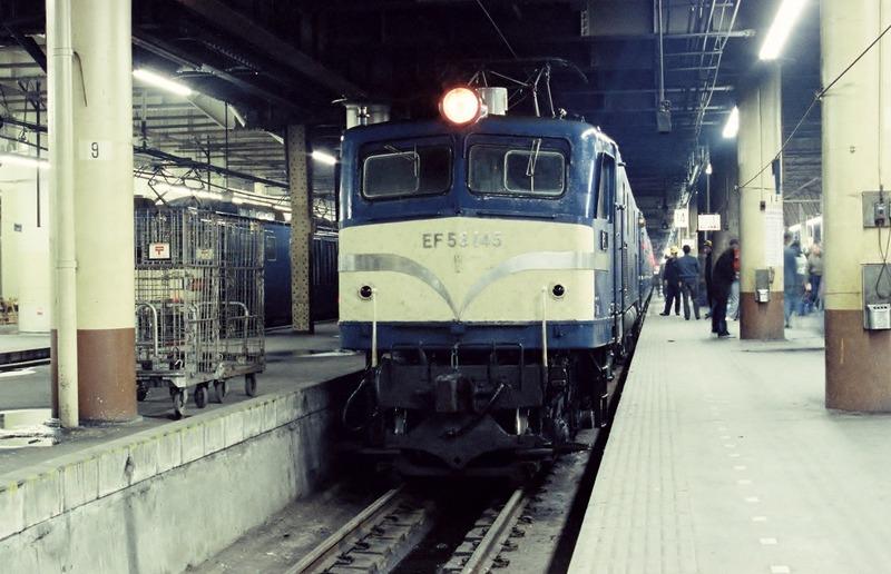 1985・2・10 EF58-145 急行津軽  その1
