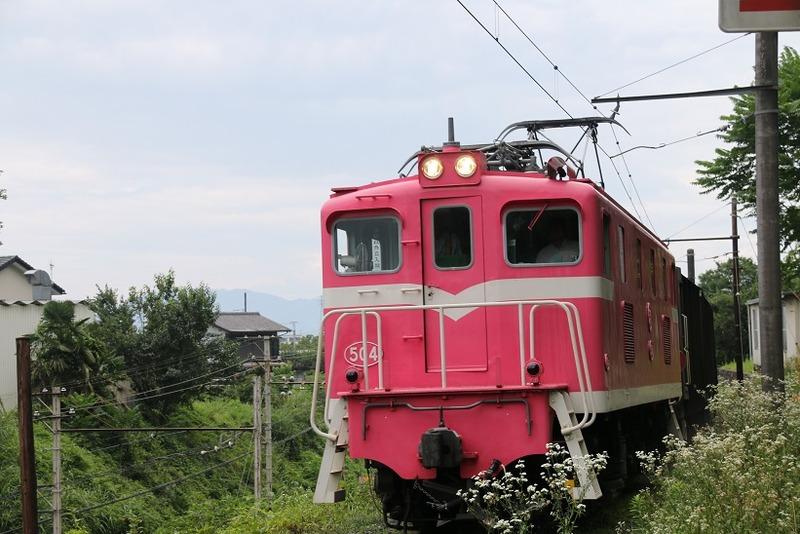 3 鉱石列車 504号機 影森近くにて その3